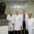 Wiceprezydent Iranu J.E. dr Ali Akbar Salehi podczas prezentacji powstających w NCBJ akceleratorów medycznych, fot Marcin Jakubowski, NCBJ
