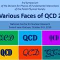 """""""Various Faces of QCD 2"""" — 3 Sympozjum Polskiego Towarzystwa Fizycznego sekcji Fizyki Oddziaływań Fundamentalnych, 8-9 października 2016"""