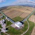 Bird's-eye view on the Virgo facility (photo Virgo Collaboration)