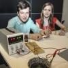 Bartosz Tobis i Paulina Załecka, III nagroda w kategorii pokaz  – fot. Centrum Nauki Kopernik