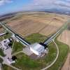 Widok z lotu ptaka na miejsce eksperymentu Virgo,  fot. Virgo Collaboration